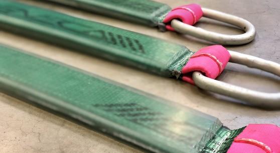 Polyurethaan PU bescherming hijsband