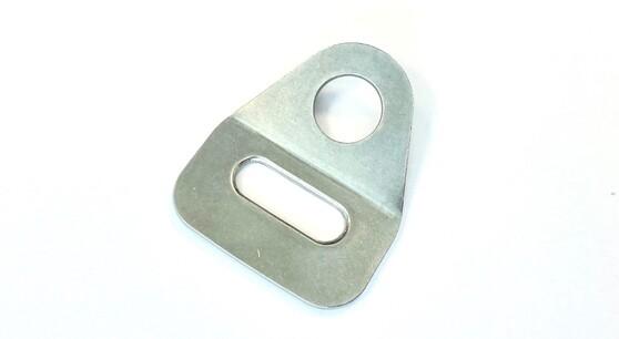RVS bevestigingsplaatje 25mm