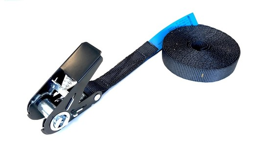 spanband 25 mm zwart